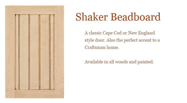 Shaker Slab Beaded Cabinet Doors Cabinet Doors